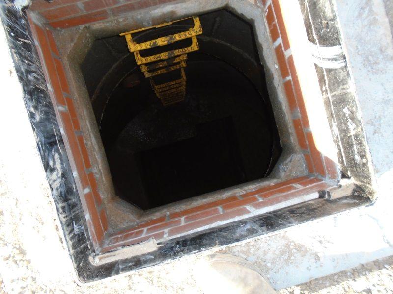 Manhole benching Urmston