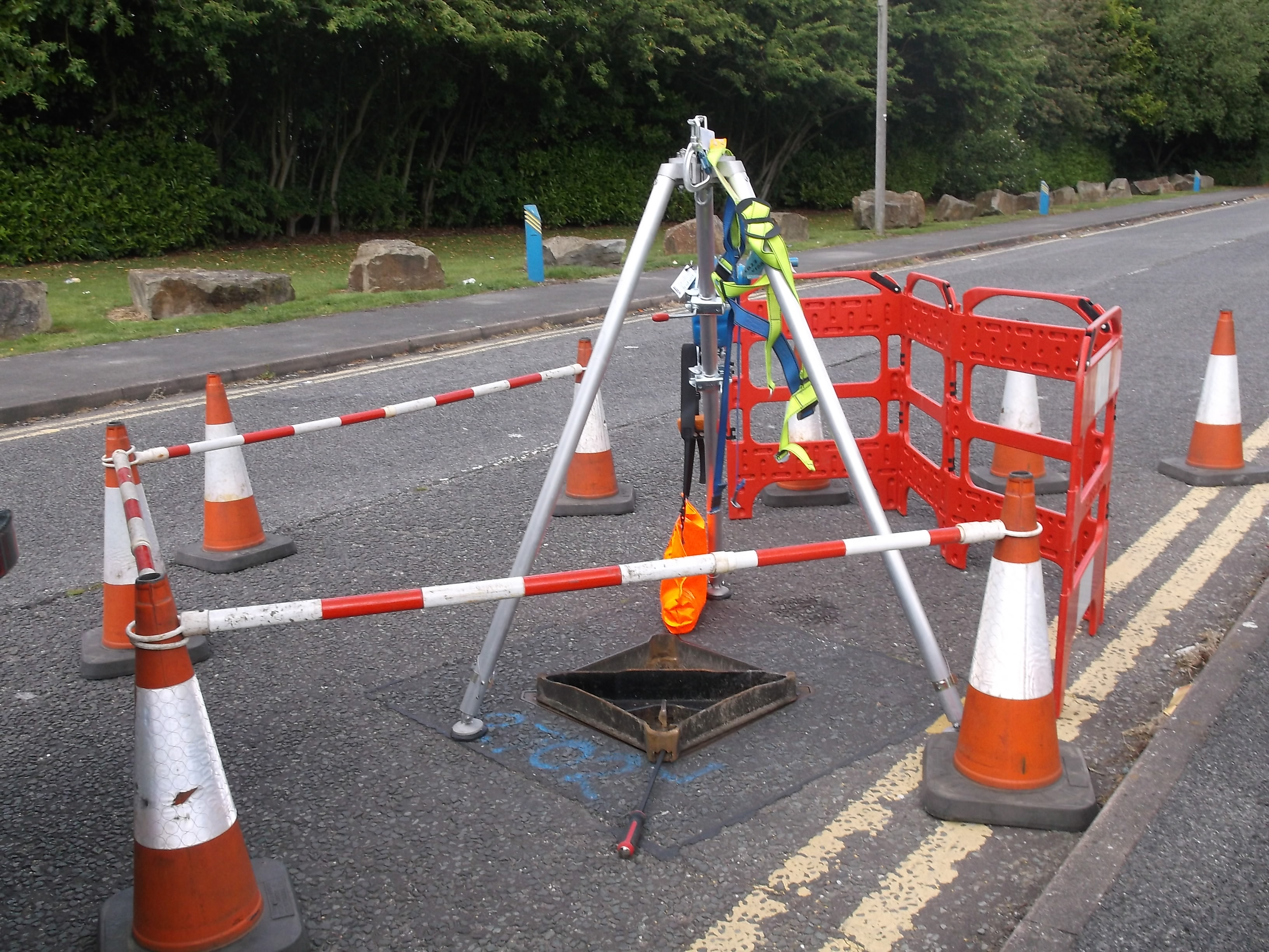 Manhole Surveys, Manchester-Sewer Serve Solutions